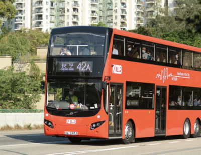 Order of 46 Volvo Double Deckers Brings Total to 500 in Hong Kong